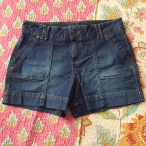 Sonoma Patch Pocket Denim Shorts